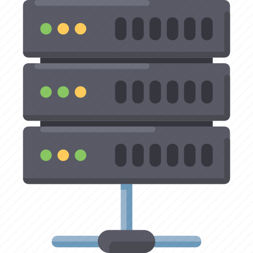 connection, data, database, hosting, internet, network, server icon