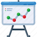 analysis, analytics, arrow, graph, presentation, statistics, up icon