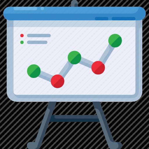 analysis, analytics, arrow, graph, presentation, statistics, up icon