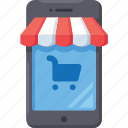 business, ecommerce, graph, market, online, shop, shopping icon