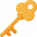 key, locked, password, safe, safety, security, unlock icon