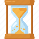 clock, hour, hourglass, minute, stopwatch, timer icon