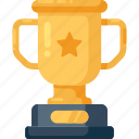award, badge, cup, medal, trophy, winner icon