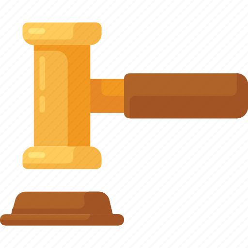 auction, direction, judge, justice, lawyer icon