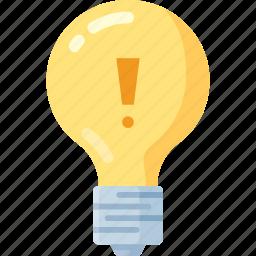 brain, bulb, creative, idea, mind, shape, think icon