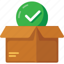 box, delivery, gift, package, shipping, shopping icon
