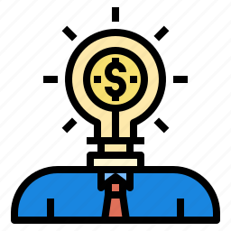 business, bussiness, currency, idea, investment, startup icon