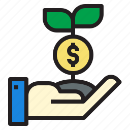 business, currency, investment, make, money, startup icon