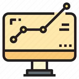 business, currency, investment, online, profit, startup icon