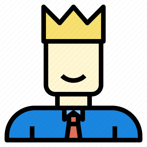 and, boss, business, currency, investment, leader, startup icon
