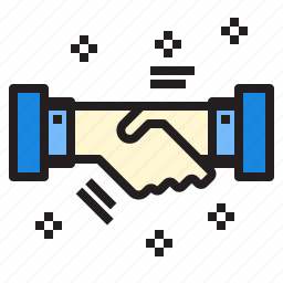 business, currency, handshake, investment, startup icon