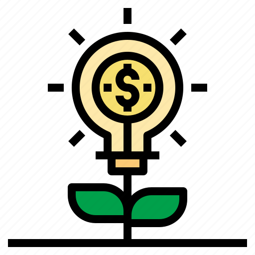 business, currency, idea, investment, make, money, startup icon