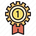 award, business, currency, investment, leader, startup icon