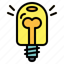 bulb, electronics, idea, invention, light