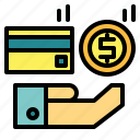 business, cash, currency, dollar, exchange, money, payment icon