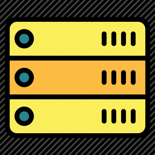 Database, hosting, network, server, storage icon - Download on Iconfinder