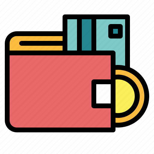 card, money, notes, wallet icon