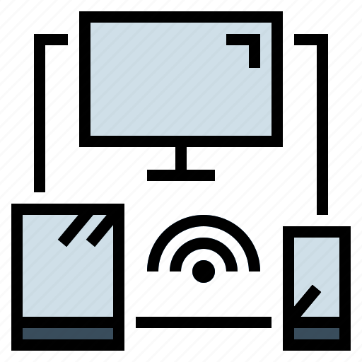computer, responsive, smartphone, tablet, technology icon