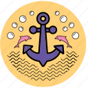 anchor, equipment, startup, tool, tools, uploads, work icon