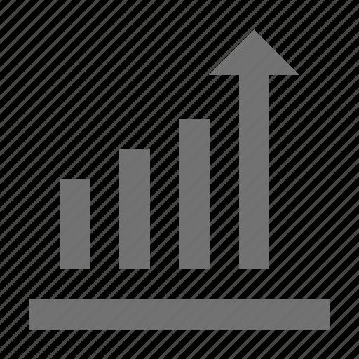 bar chart, bar graph, business graph, business growth, growth chart icon