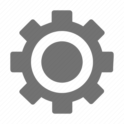 Cogwheel, gearwheel, gear, cog, settings icon