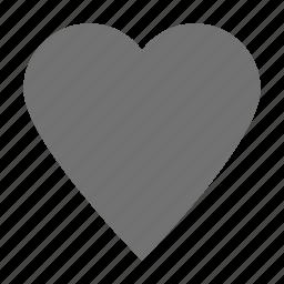 favorite, heart, heart shape, love, romantic icon