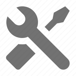 configuration, options, preferences, setting tools, wrench icon