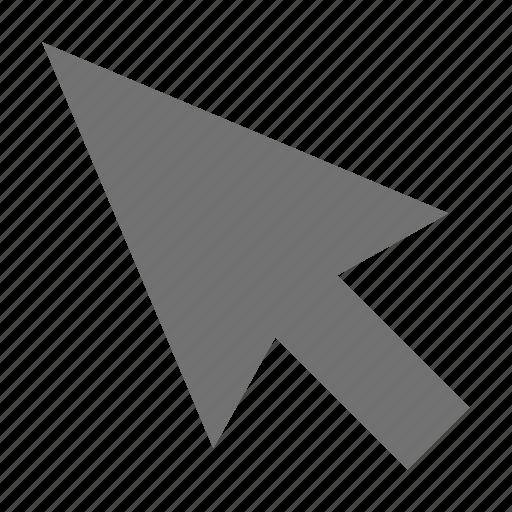 arrow, click, cursor, cursor arrow, mouse pointer icon