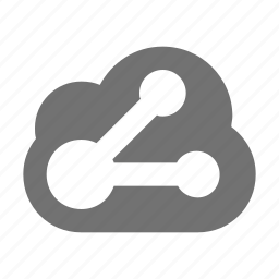 cloud computing, cloud network, cloud sharing, share sign, storage cloud icon