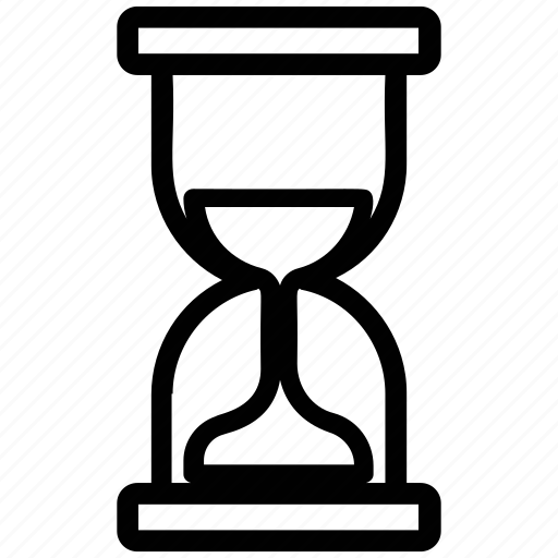 ancient timer, egg timer, hourglass, sand timer, timer icon