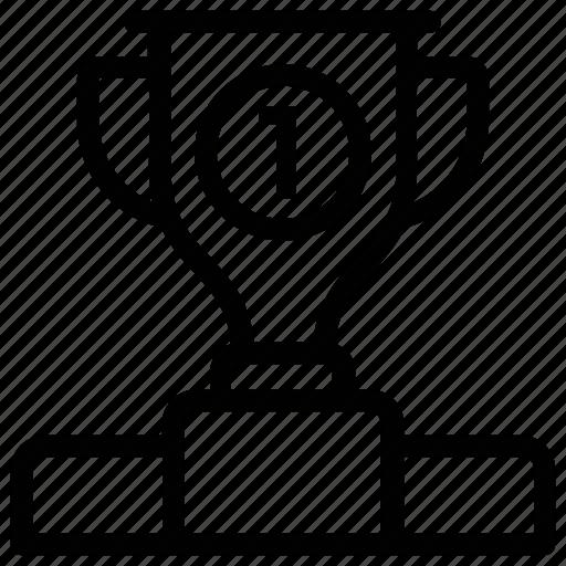Award ceremony, leaderboards, winner trophy, winners pedestal, winners podium icon - Download on Iconfinder