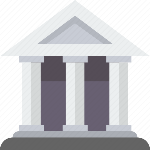 bank, banking, building, business, capitol, finance, money icon