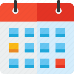 agenda, calendar, day, deadline, schedule, time, wall icon