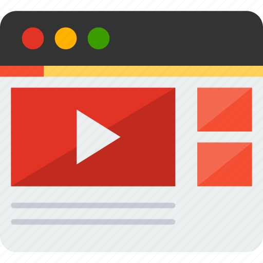 channel, media, play, social, video, youtube icon