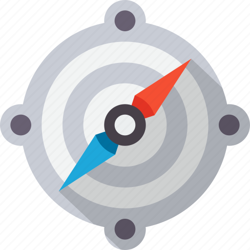 compass, direction, gps, location, navigate, navigation, tracking icon