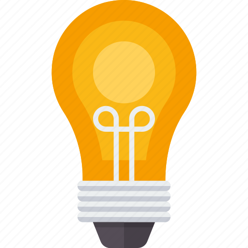 bulb, creative, electric, idea, lamp, light, lightbulb icon