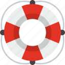 help, life guard, lifebuoy, rescue, sos, support icon