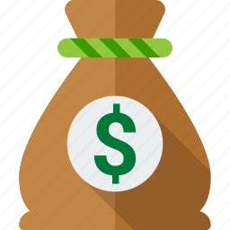 bag, bank, dollar, money, moneybag, sack, saving icon