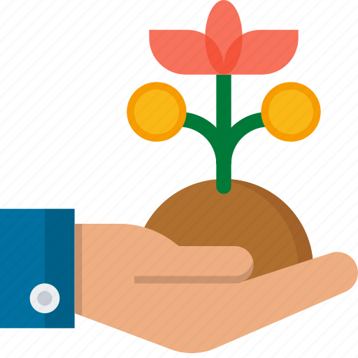 ecology, flower, nature, plant, startup, tree icon