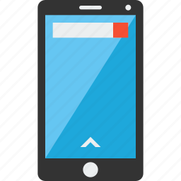 android, iphone, mobile phone, phone, screen, smartphone icon