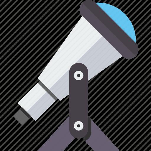 astronomy, planetarium, search, space, spyglass, telescope, zoom icon