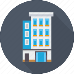 big, building, business, office, real estate, work icon