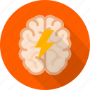 brain, brainstorm, creative, idea, mind, storming, think icon