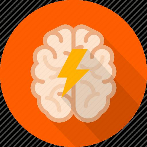 brain, brainstorm, creative, idea, mind, storming, think icon