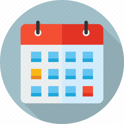 agenda, calendar, day, deadline, schedule, time, wall icon