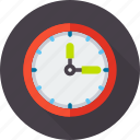 alarm, clock, due, schedule, time, timer, wall icon