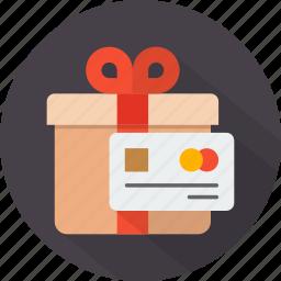 box, christmas, gift, holiday, present, wrapped, xmas icon