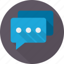 chat, communication, email, mail, message, talk icon
