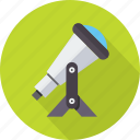 astronomy, planetarium, search, space, spyglass, telescope, zoom icon