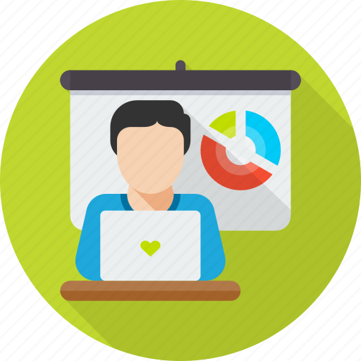 Conference, meeting, presentation, seminar, training, workshop icon - Download on Iconfinder